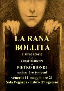 La rana bollita - Victor Maticora - Locandina Libro d'Ingresso Spoleto